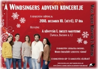 A Windsingers adventi koncertje
